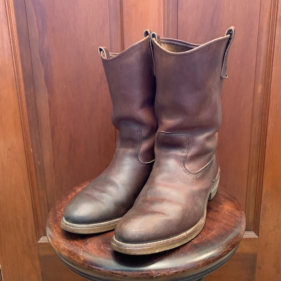 6adcd00390d Red Wing Nailseat Pecos Western Work Boots 10.5